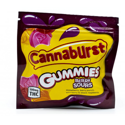 Cannaburst Gummies (Berry)