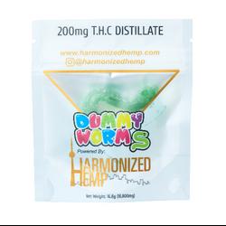 THC Dummy worms- Blueberry