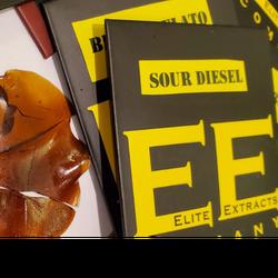 Sour Diesel- 1 Gram of Shatter