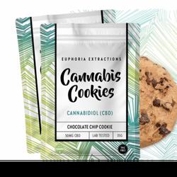 Euphoria Extractions: CBD Cookies 50mg