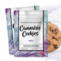 Euphoria Extractions: Indica Shatter Cookies 100mg