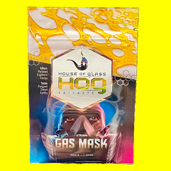 House Of Glass Gas Mask (shatter)