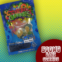 Dank Gummies Sour Keys 500mg
