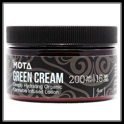 Mota - Green Cream 200mg THC 4oz