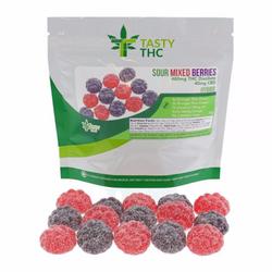 Sour Mixed Berries (480mg/THC 10mg/CBD)