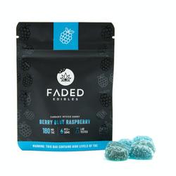 Faded Cannabis Co: Berry Blue Raspberries 180mg