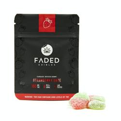 Faded Cannabis Co: Strawberry Daze 180mg