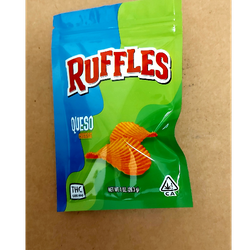 Ruffles chips  queso (cheese) 600mg