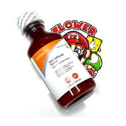 """1000mg """"MANGO"""" THC INFUSED SYRUP (FAST ACTING PAIN RELIEF)"""