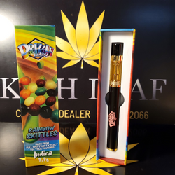 Rainbow Skittles Vape Pen by Drizzle Factory 1.1 G