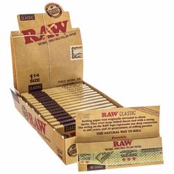 Raw Classic king Size Slim Rolling Paper (HEMP)