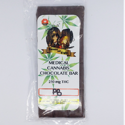 Bonnie and Clyde Peanut Butter Chocolate Bar 500mg