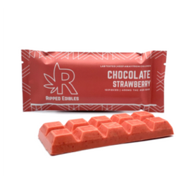 Ripped Edibles - Strawberry Chocolate (400mg)