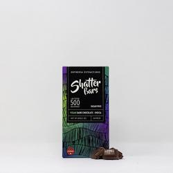 Dark Chocolate Vegan Indica 500mg Shatter Bar [Euphoria Extractions]