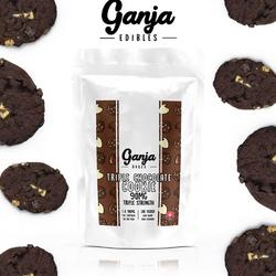 Ganja Triple Chocolate Cookie
