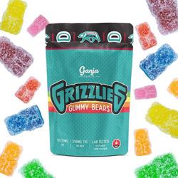 Ganja Grizzlies Sour Gummy Bears