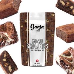 Ganja Baked White Chocolate Chunk Brownie