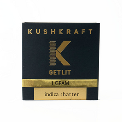 1G Prepackaged India Shatter