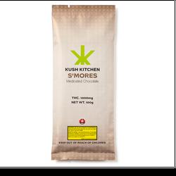 1000mg KUSH KITCHEN S'more MEDICATED CHOCOLATE BAR