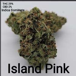 Island Pink AAAA Indica Dominate