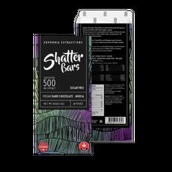 Dark Chocolate Vegan Indica 500mg Shatter Bar