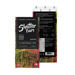 Dark Chocolate Vegan Sativa 500mg Shatter Bar