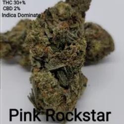 Pink Rockstar AAAA Indica Dominate