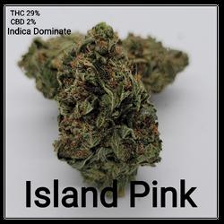 Pink Island Indica Dominate 29% ???