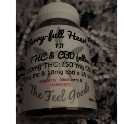 The Feel Goods THC&CBD jellies
