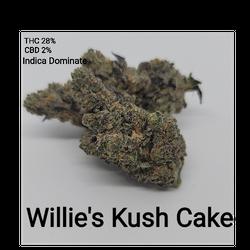 Willy Kush Cake Indica Dominate