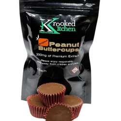 🍽 KROOKED KITCHEN  Peanut Butter Cups  ◈200mg