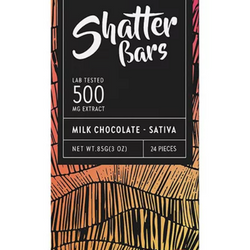 🔹MILK CHOCOLATE Sativa Shatter Bar   ▪Euphoria Extractions▪     ◈500mg