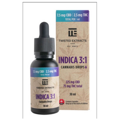 Indica 3:1 Cannabis Oil Drops