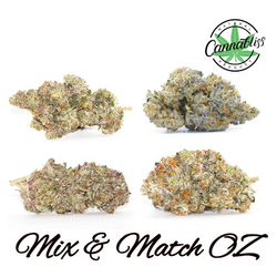 ***MIX & MATCH OZ SPECIALS (SAVINGS OF $90) - UP TO 4 STRAINS***