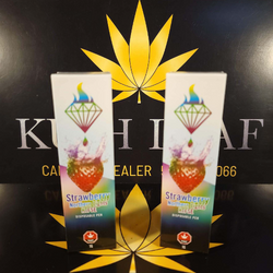 Strawberry Northern Lights 1 G HTFSE Vape Pen by Diamond Concentrates