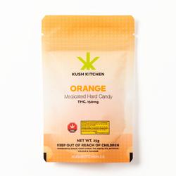 Orange Hard Candy - 150mg