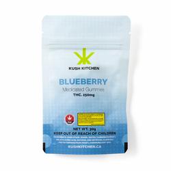 Blueberry XL Gummy Bear - 250mg