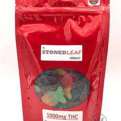 THC Gummies 🌿Stoned Leaf     ◈1000mg