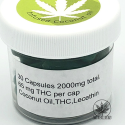 ▾◈◀ MEDIBLES ▶◈▾  THC Capsules   ☯ 2000mg