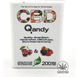 🍍🍒🍓 CDB QANDY Micro Dose Hard Candies   BERRIES    ◈200mg