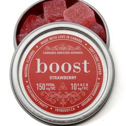 (150mg) Boost THC Strawberry Gummies