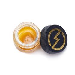 High Voltage Extracts – Orange Valley OG Sauce (Hybrid)