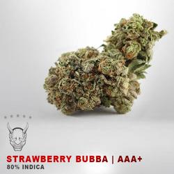 Strawberry Bubba - AAA+ - 80% INDICA