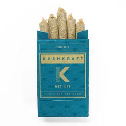 KushKraft Preroll Pack – Hybrid