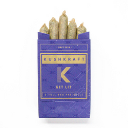 KushKraft Preroll Pack – Indica