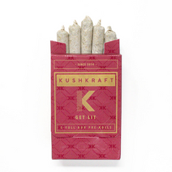 KushKraft Preroll Pack – Sativa
