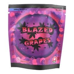 Blazed Grapes 400mg THC - Northern Extracts