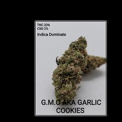GMO aka Garlic Cookies Indica Dominate