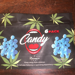 BlueBerry Gummies 300mg ( 6 PACK )