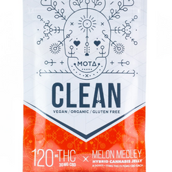 ➰ MELON MEDLEY ➰ CLEAN ⛲ VEGAN Organic Hybrid Jellies  ◾MOTA◾     ▾120mg THC / ▾30mg CBD